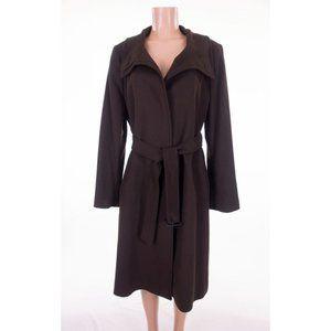 BURBERRY LONDON Wool Cashmere Coat US 14 UK 16